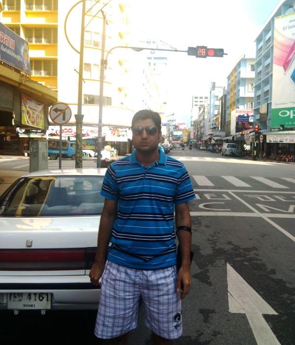 Abdul Wali from Hat Yai to Kuala Lumpur