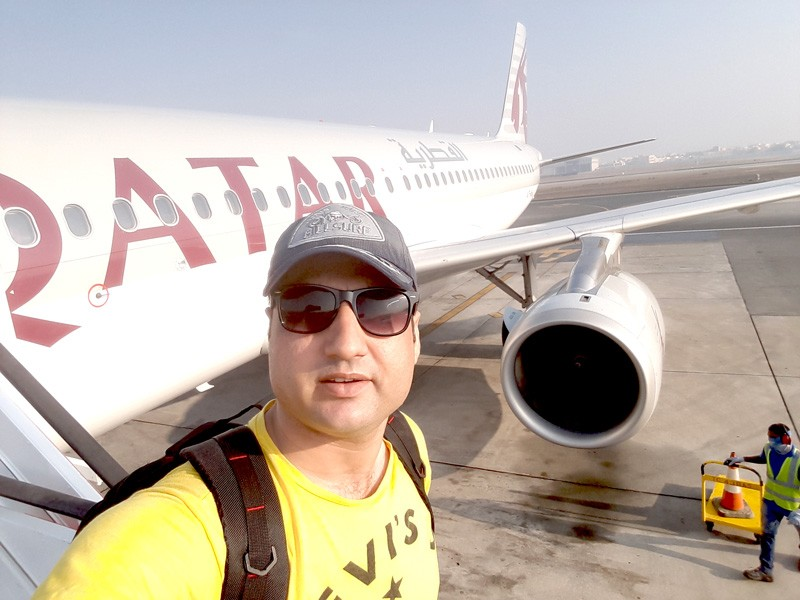 abdul-wali-in-qatar-airways-flight
