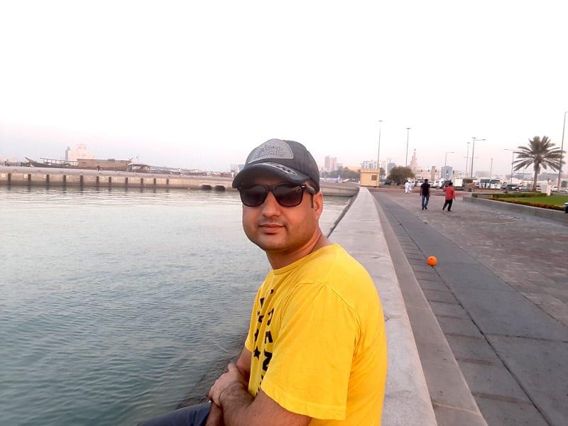 doha-beach-side