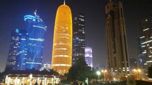 doha-city-at-night