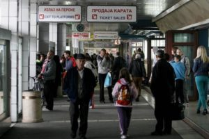 belgrade bus station inside