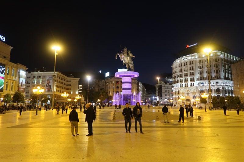 City Center Square Skopje