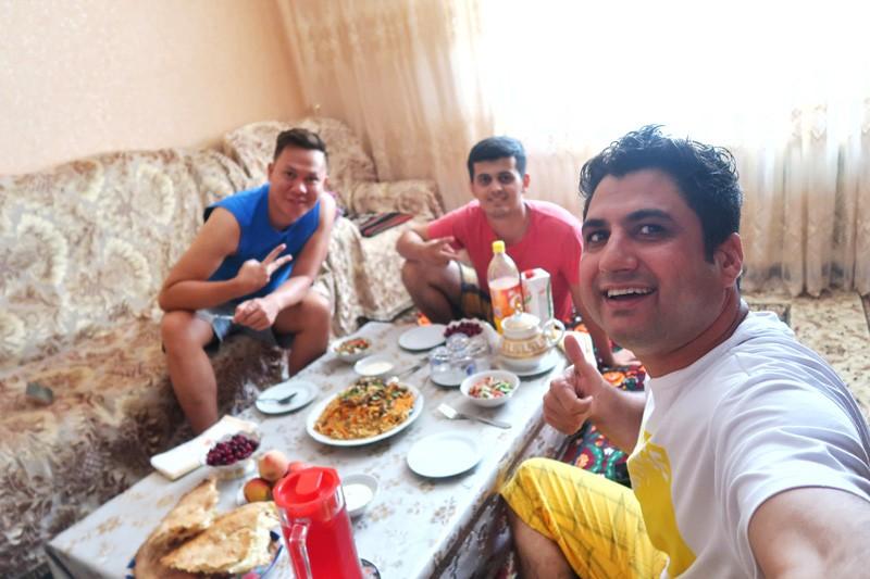 local food of tajikistan