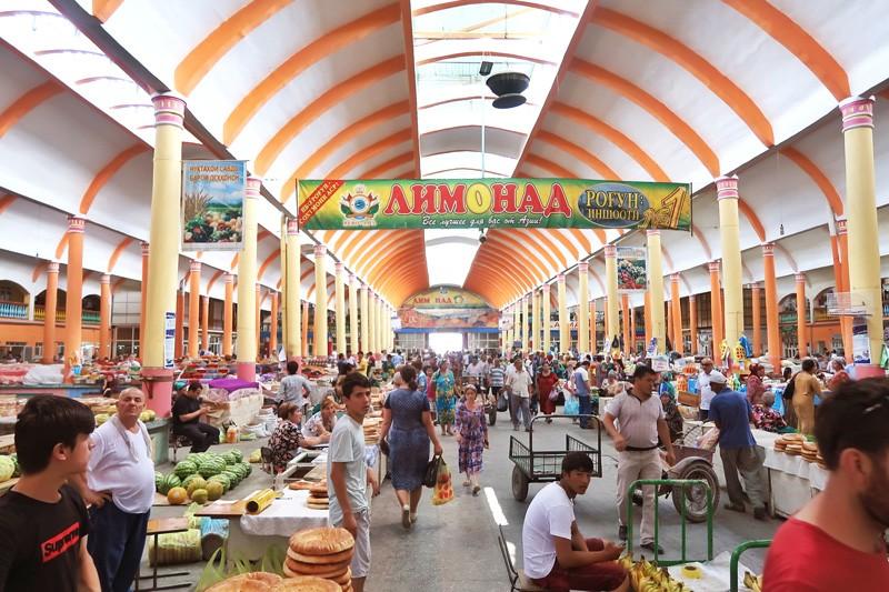 Panjshanbe bazar Khujand