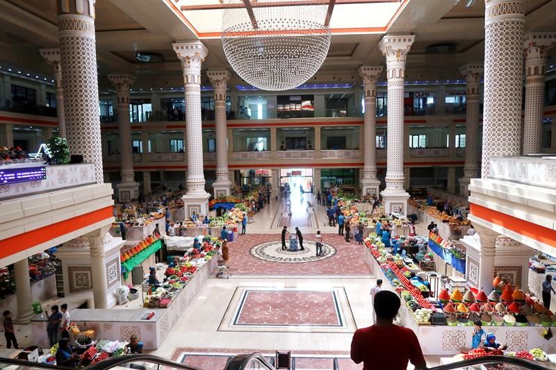 Panjshanbe Bazar, Dushanbe
