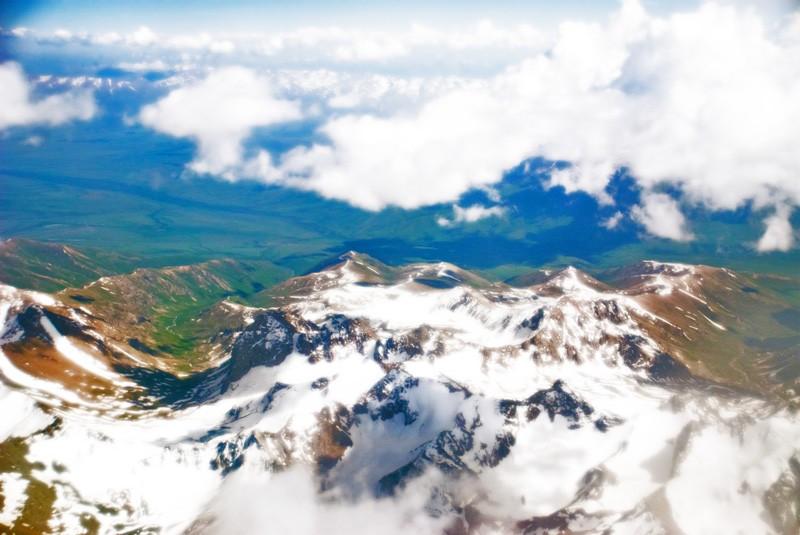 The Pamir mountains of Tajikistan.
