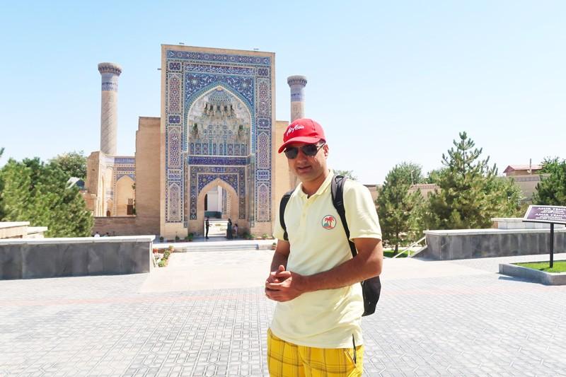 Amir's tomb or Gur-e-Amir in Samarkand