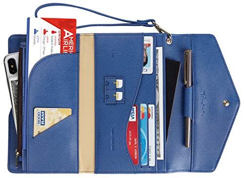 Portefeuille de voyage avec blocage RFID