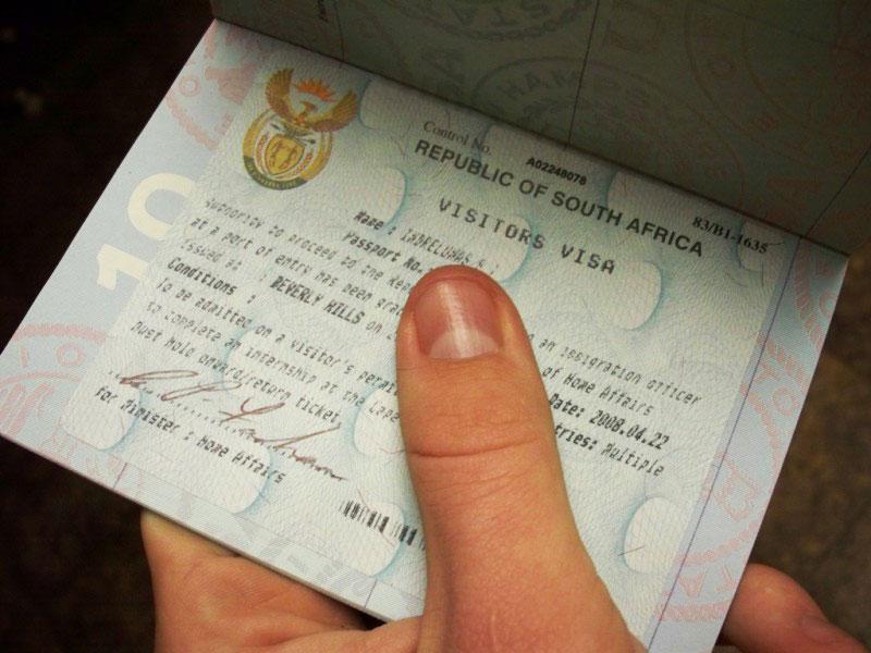 south africa visa for pakistani passport