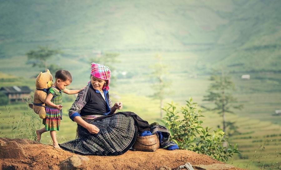Bali local woman